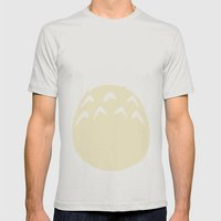 Dubiously Troll ~ My Neighbor Troll Mens Fitted Tee Silver SMALL