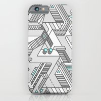 iPhone & iPod Case featuring Penrose Manifold by Benjamin White