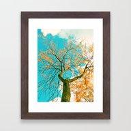 Autumn Hero Framed Art Print