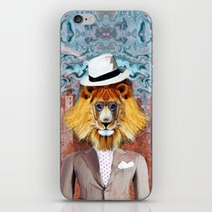 mister Lion iPhone & iPod Skin