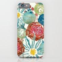 iPhone & iPod Case featuring Wildflower Desert by Sara Berrenson