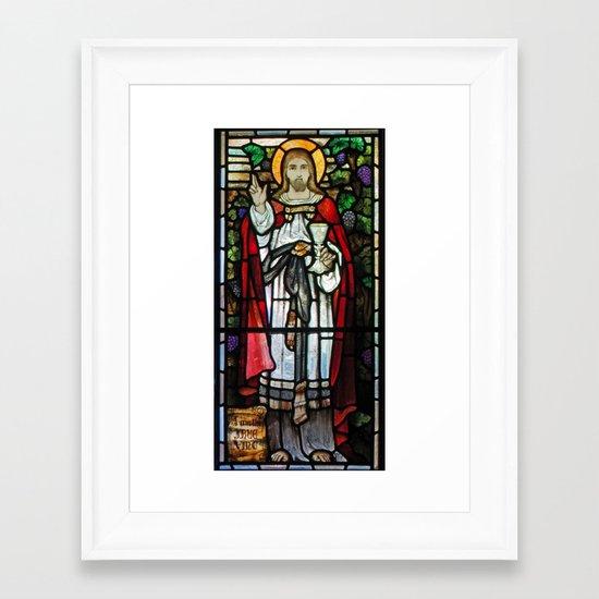 The True Vine Framed Art Print