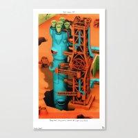 POP HELL #7 Canvas Print