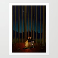 Where The Woods Finds Us Art Print