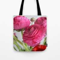 Ranunculus Tote Bag