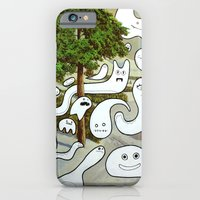 iPhone & iPod Case featuring Forest Ghosts (iPhone case/skin) by Andy Detskas
