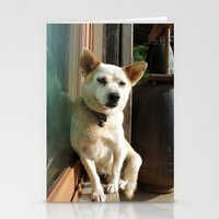 Sleepy Dog Stationery Cards
