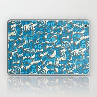 chinese animals blue Laptop & iPad Skin