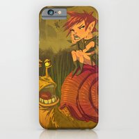 iPhone Cases featuring The Fairy and Bob The Snail by Ketsuo Tategami