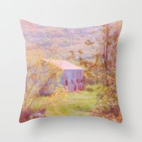 Memories Of The Farm Throw Pillow