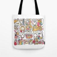 The Mayan Message Tote Bag