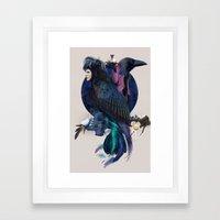 Liquor For The Birds Framed Art Print