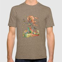 Lady From Rio Mens Fitted Tee Tri-Coffee SMALL