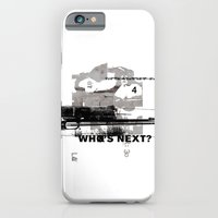 iPhone & iPod Case featuring Who's Next? by Damien Koh