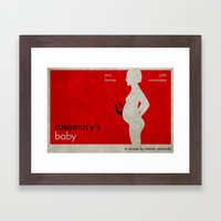 R's Baby Framed Art Print