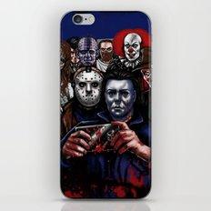 Horror Villains Selfie iPhone & iPod Skin