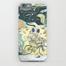 Cycling in the Deep iPhone 6 Slim Case