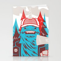 Cornelius : Lumberjack Stationery Cards
