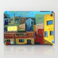 Barcelona Rooftops iPad Case