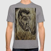 Vincent Mens Fitted Tee Athletic Grey SMALL