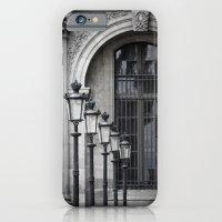 Parisian Streetlamps iPhone 6 Slim Case