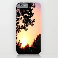 iPhone & iPod Case featuring Sunset by bobtheberto