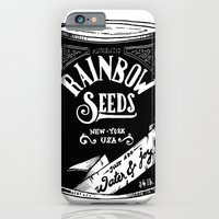 iPhone & iPod Case featuring Rainbow Seeds by Chá de Polpa