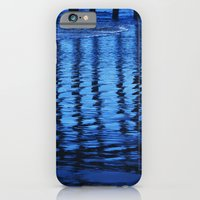iPhone & iPod Case featuring Blue Waves by Shawn King