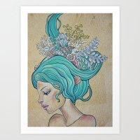 Nereid I Art Print