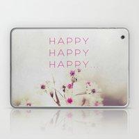 Happy Happy Laptop & iPad Skin