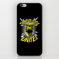 Thunder Gods Unite! iPhone & iPod Skin