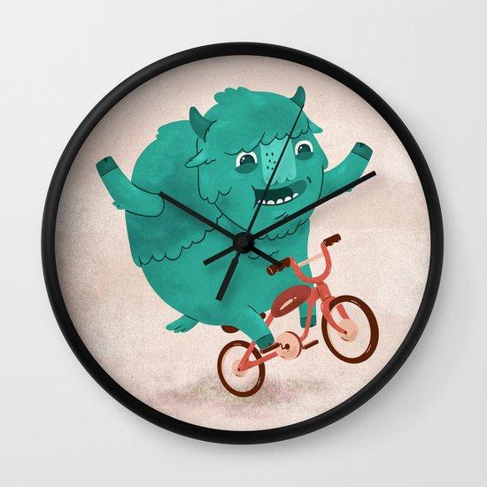 Bicycle Buffalo Wall Clock