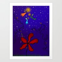 Star Light  Art Print