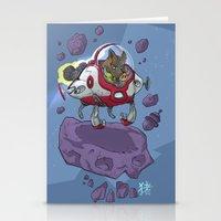 Astro Zodiac Force 12:  Boar Stationery Cards