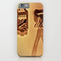 iPhone & iPod Case featuring Empty Reflections Yet Not by Karol Livote