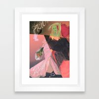Kill, F-CK, Marry Framed Art Print