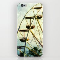 Ride into the Sunset iPhone & iPod Skin