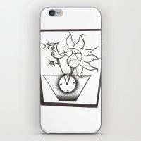 Time In The Box iPhone & iPod Skin