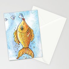 Kisses From Fannie Finn Stationery Cards