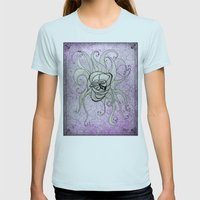 Luz's Toronto Spaghetti Monster Womens Fitted Tee Light Blue SMALL