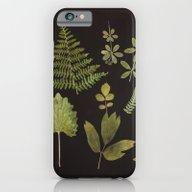 iPhone & iPod Case featuring Plants + Leaves 5 by Thedaintysquid
