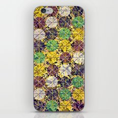 Pattern circles joined iPhone & iPod Skin