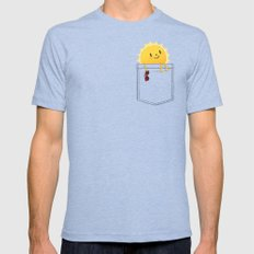 Pocketful of sunshine Mens Fitted Tee Tri-Blue SMALL