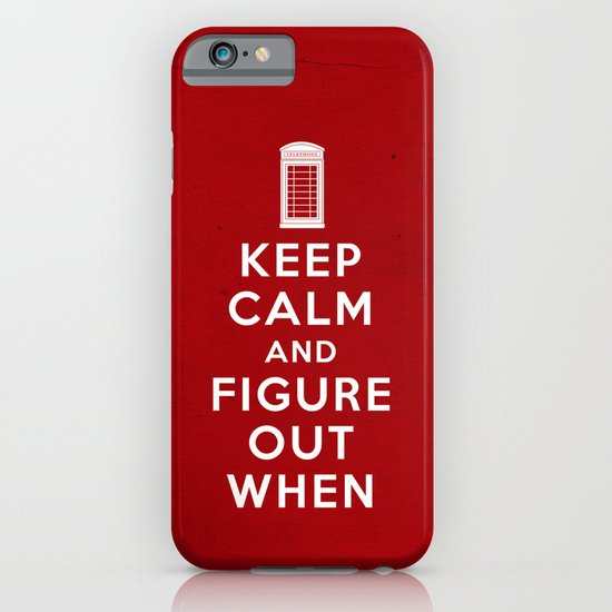 Keep Calm and Figure Out When iPhone & iPod Case
