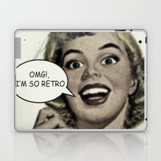 OMG!, I'm so Retro Laptop & iPad Skin