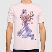 Octopus man can't wait no more Mens Fitted Tee Light Pink SMALL