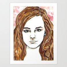 Hermione Granger Art Print