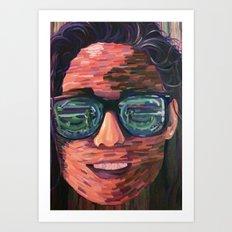 Kendall. Art Print