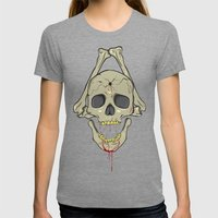 hopeless Womens Fitted Tee Tri-Grey SMALL