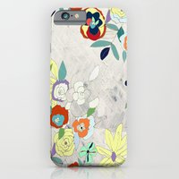 iPhone & iPod Case featuring Saturday Florals by Tiffany Jones